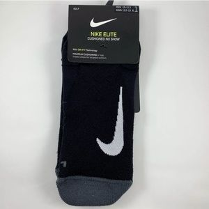 Nike Elite Cushioned Golf No Show Socks